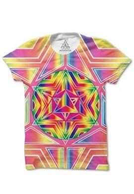 Rainbow Tetrahedron Shirt