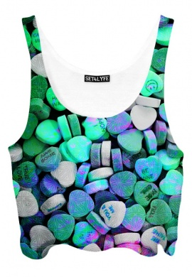 Love Drug Crop Top