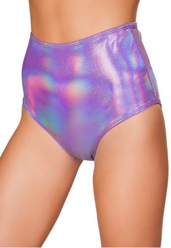 Lavender Twinkle High Waisted Shorts