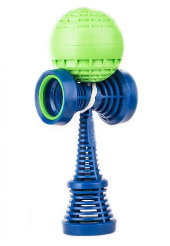 Blue and Green Catchy Air Kendama
