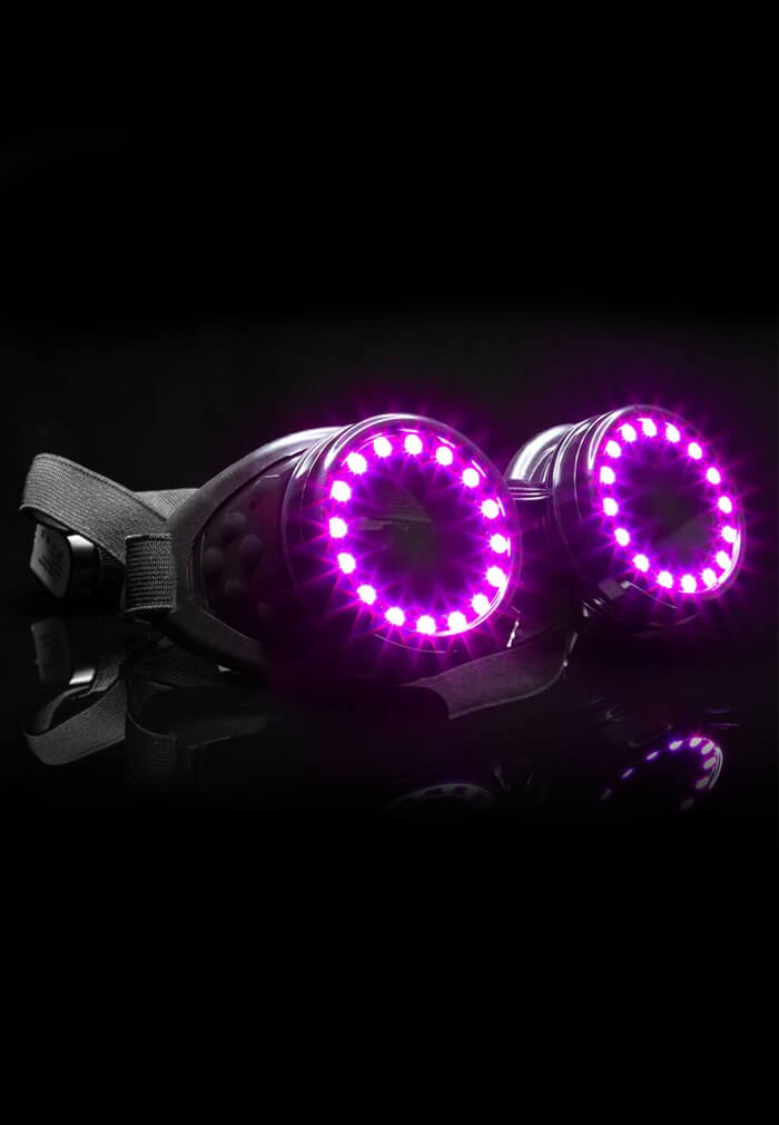 Programmable Led Goggles Pixel Pro Customizable Light Up