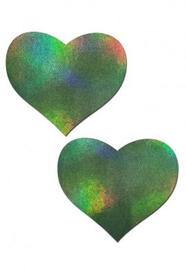 Green Room Heart Pasties
