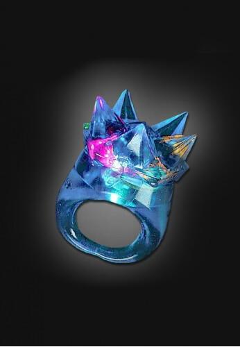LED Spike Ring