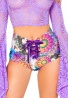 Stoned Lace-Up Shorts