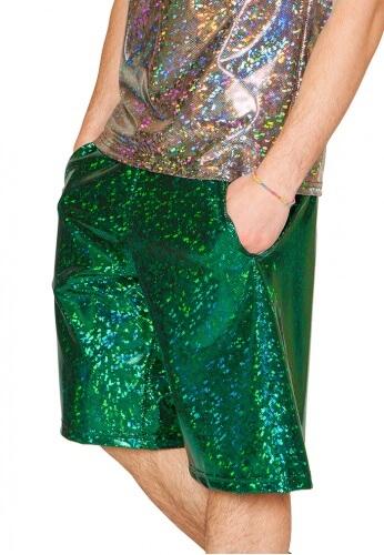 Holographic Emerald Broken Board Shorts