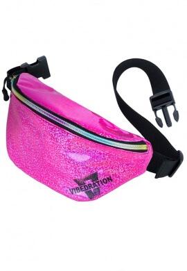 Party Pink Holographic Fanny Pack