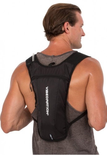 GA Athlete Black Hydration Pack