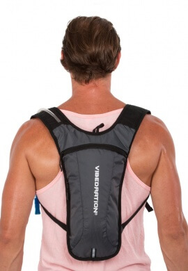 GA Athlete Charcoal Hydration Pack