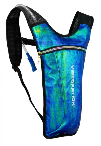 GA Holographic Mermaid Faux Leather Hydration Bag