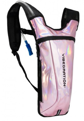 GA Holla-Graphic Light Pink Hydration Pack