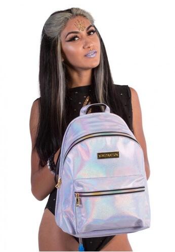 Lavender Hologram Hi-Pack Hydration Backpack