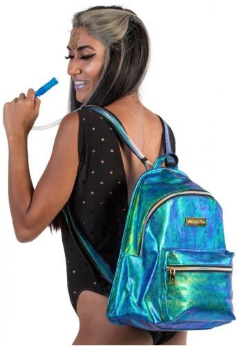 Mermaid Hologram Hi-Pack Hydration Backpack