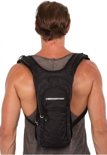 VIP Athlete Black Hydration Pack