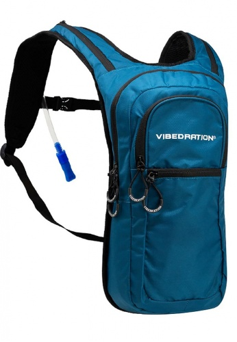 VIP Athlete Blue Steel Hydration Pack