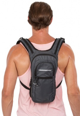 VIP Athlete Charcoal Hydration Pack