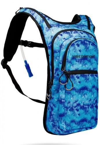 VIP Hippie Blue Acid Wash Hydration Pack