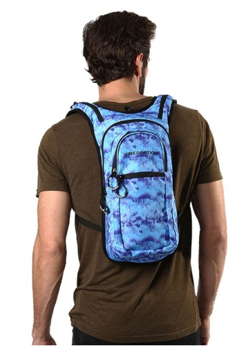 VIP Hippie Blue Acid Wash Hydration Pack