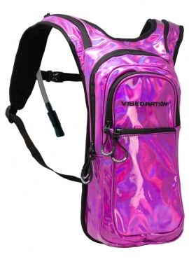 VIP Pink Holla-Graphic Hydration Pack