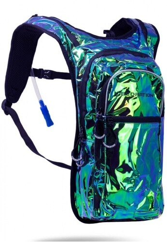 VIP Iridescent Holla-Graphic Hydration Pack