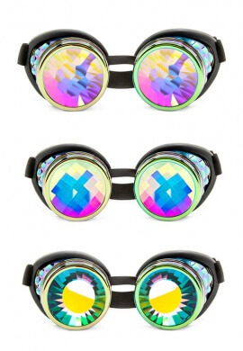 Polychrome Kaleidoscope Goggles