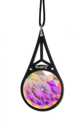Kaleidoscope Crystal Monocle Necklace