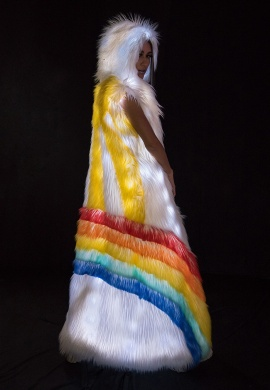 Light Up LED Rainbow Duster