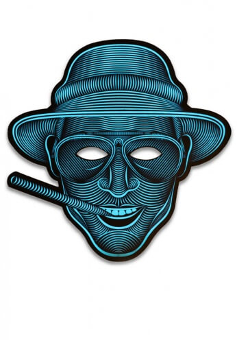 Light Up Fear and Loathing Mask