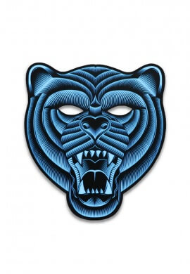 Light Up Grizzly Bear Mask