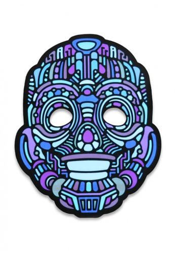 Robot Light Up Mask
