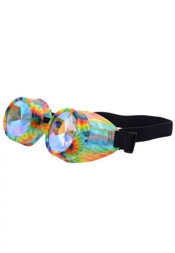 Hippie Kaleidoscope Goggles