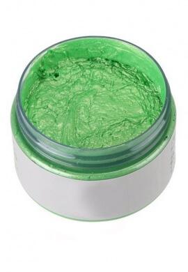Green Colored Wax Hair Dye