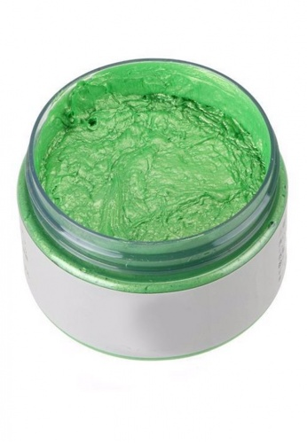 Green Colored Wax Hair Dye