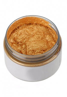 Gold Colored Wax Hair Dye