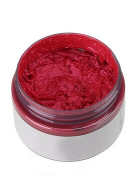Red Colored Wax Hair Dye