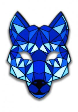 Wolf Light Up Mask