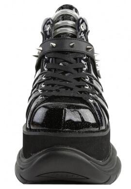 Demonia Glitter Black Neptune-100 Boots