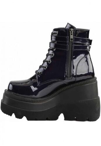 Demonia Black Hologram Shaker-52 Boots