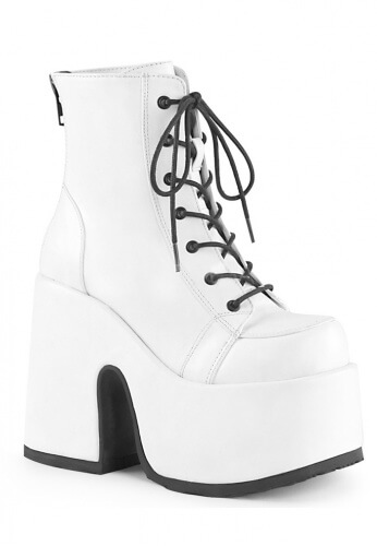 Demonia Camel-203 Ankle Boots