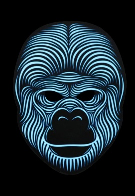 Light Up Gorilla Mask