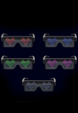 Pixel LED Glasses