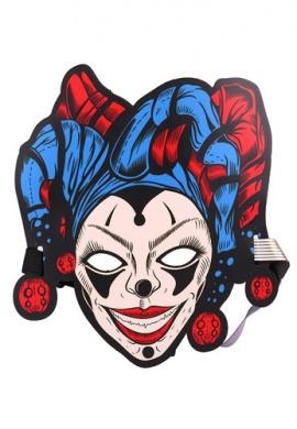 LED Light Up Jester Mask