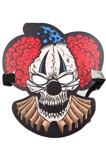 LED Light Up Jumbo the Clown Mask