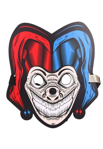 LED Light Up Smiley the Clown Mask