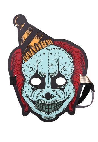 LED Light Up Bozo the Clown Mask