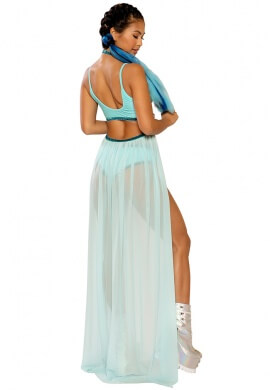 Sea Mist Harness Gypsy Skirt