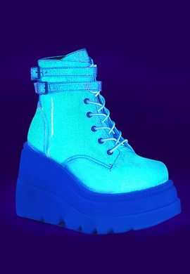 Green Holographic Glitter Shaker-52 Boots
