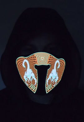 Scorpion Light Up Mask