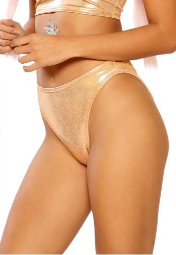 Rose Gold Spectrum High Waist Shorts