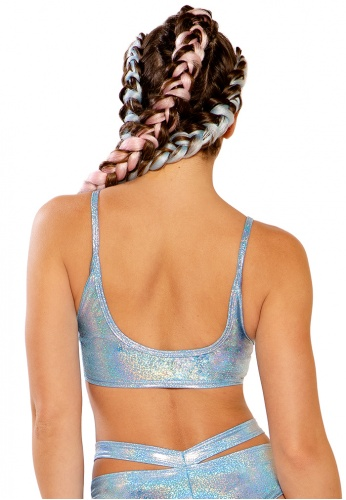 Periwinkle Blue Strap Top