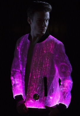 Light Up Prophecy Bomber Jacket
